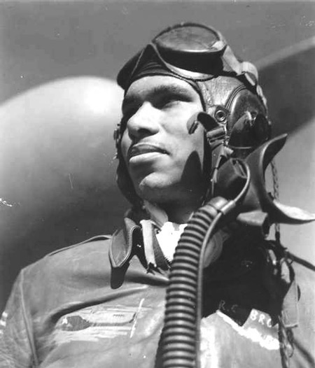 Tuskegee Airman pilot Roscoe C. Brown was credited with 68 combat missions during WW II. (Air Force Historical Research Agency)