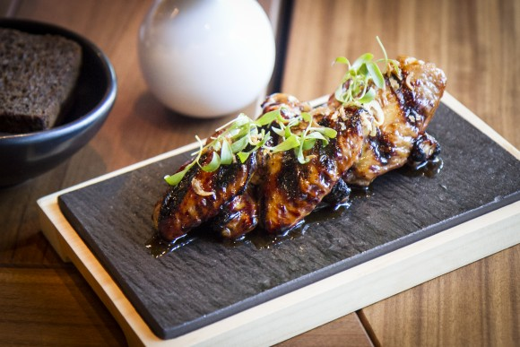 Josper-grilled chicken wings. (Channaly Philipp/Epoch Times)