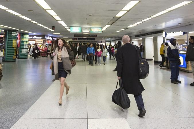 Pennsylvania Station in New York, on Feb. 6, 2017. (Samira Bouaou/Epoch Times)