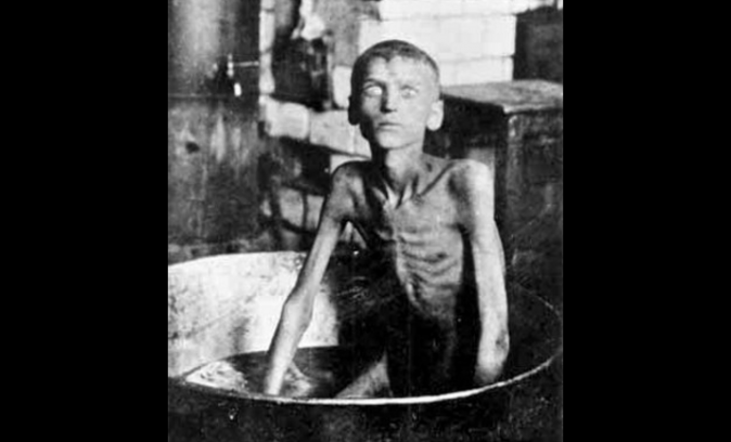 A boy from village Blahovishchenka (gubernia or province of Zaporizhzhia, Ukraine)—Ilarion Nyshchenko—from starvation killed his 3-year-old brother and ate him (1921–22) (Public Domain)