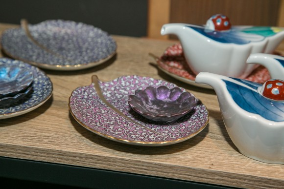 The Blue Ribbon Sushi Izakaya in New York hosts Aritaware on Feb. 6, 2017. Arita is small town in Japan best known for producing porcelain for 400 years.  (Benjamin Chasteen/Epoch Times)