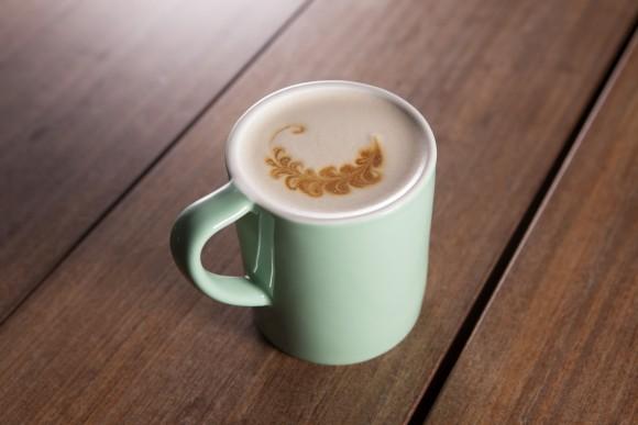 The Raf coffee with espresso and vanilla sugar. (Armando Rafael)