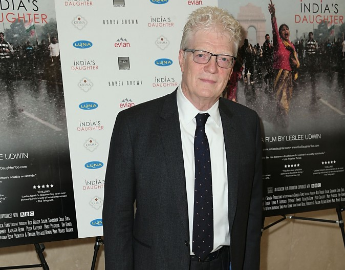Sir Ken Robinson in Beverly Hills, Calif. in 2016.  (Joe Scarnici/Getty Images)