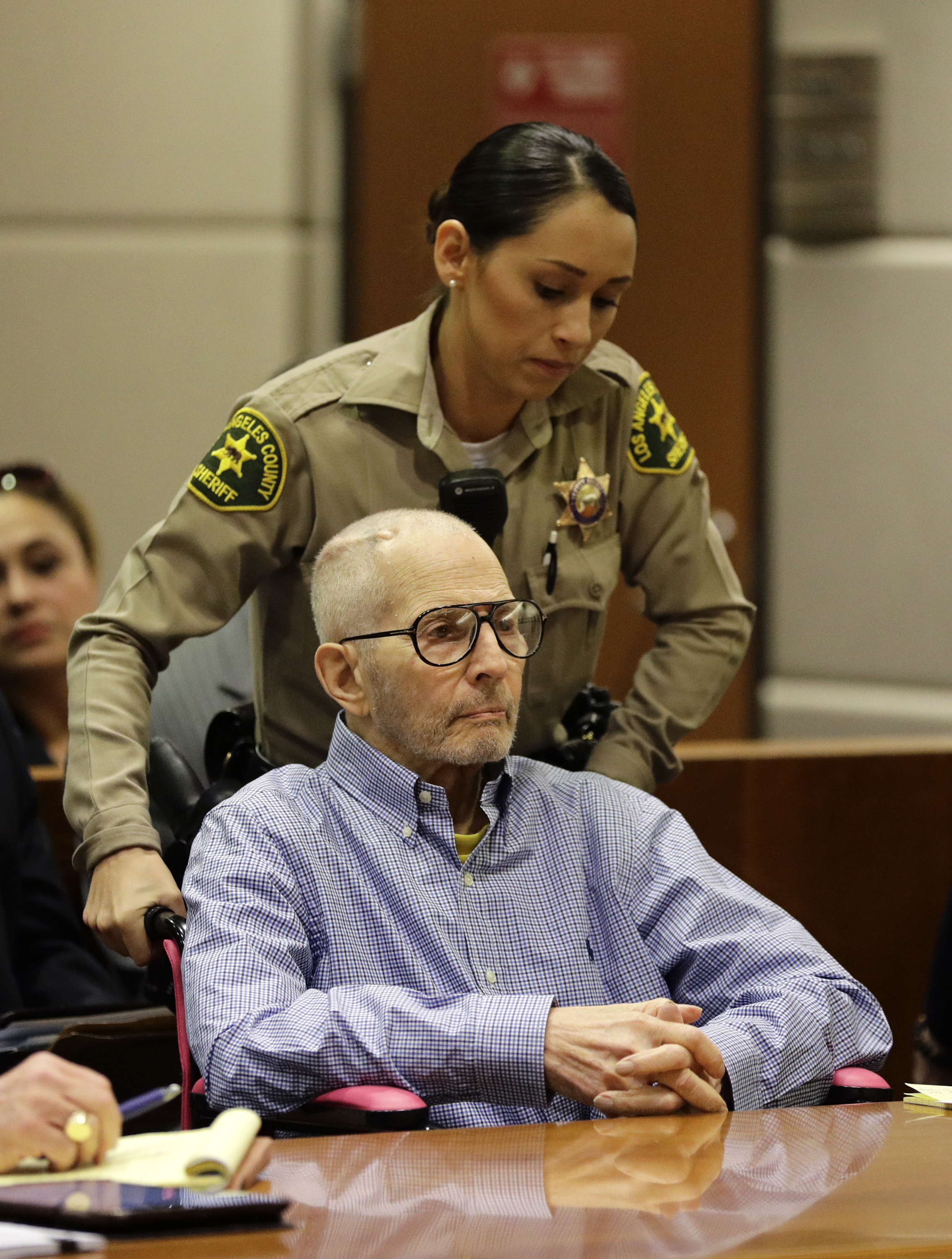 Real estate heir Robert Durst in the courtroom for a hearing in Los Angeles, in this file photo. (AP Photo/Jae C. Hong, Pool, File)