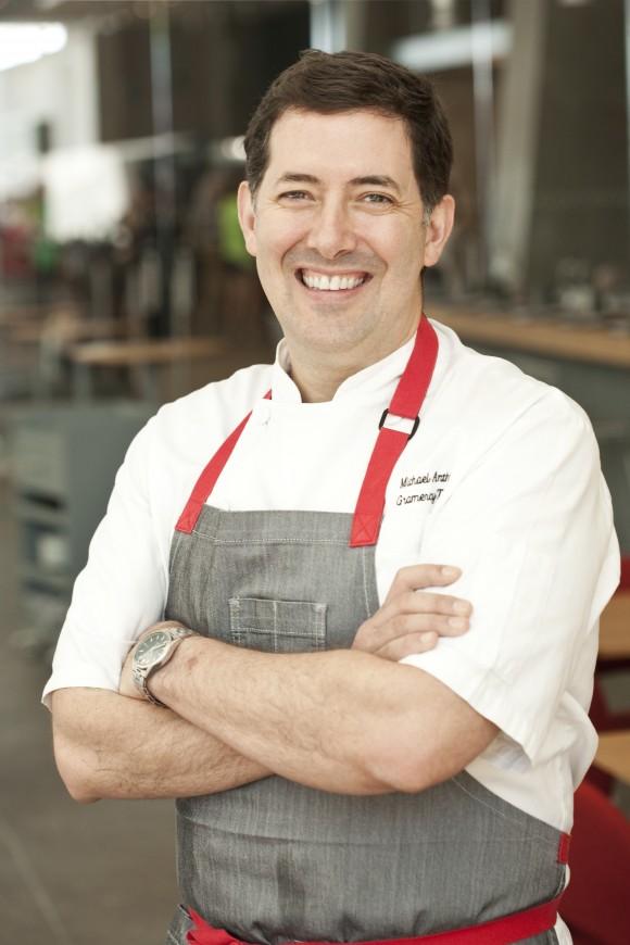 Chef Michael Anthony. (Melissa Hom)
