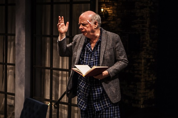 Wallace Shawn in his play