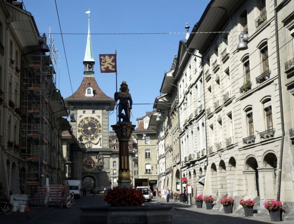 The Zytglogge, Bern's medieval clock tower and a landmark of the city. (Mohammed Reza Amirinia)