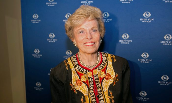 Ellen Sauerbrey, head of the United States Department of State's Bureau of Population, Refugees, and Migration during the George W. Bush administration and a former U.S. ambassador, enjoyed the performance of Shen Yun Performing Arts at The Hippodrome Theatre in Baltimore on Feb. 18, 2017. (Epoch Times)