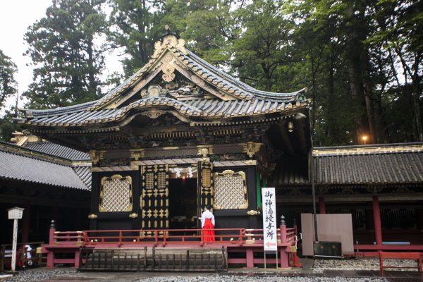 Inside the Toshogu shrine in Nikko. (Annie Wu/Epoch Times)