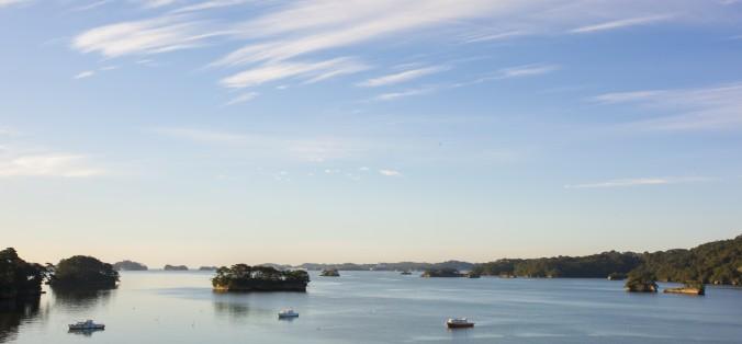 The pine islands of Matsushima Bay. (Annie Wu/Epoch Times)