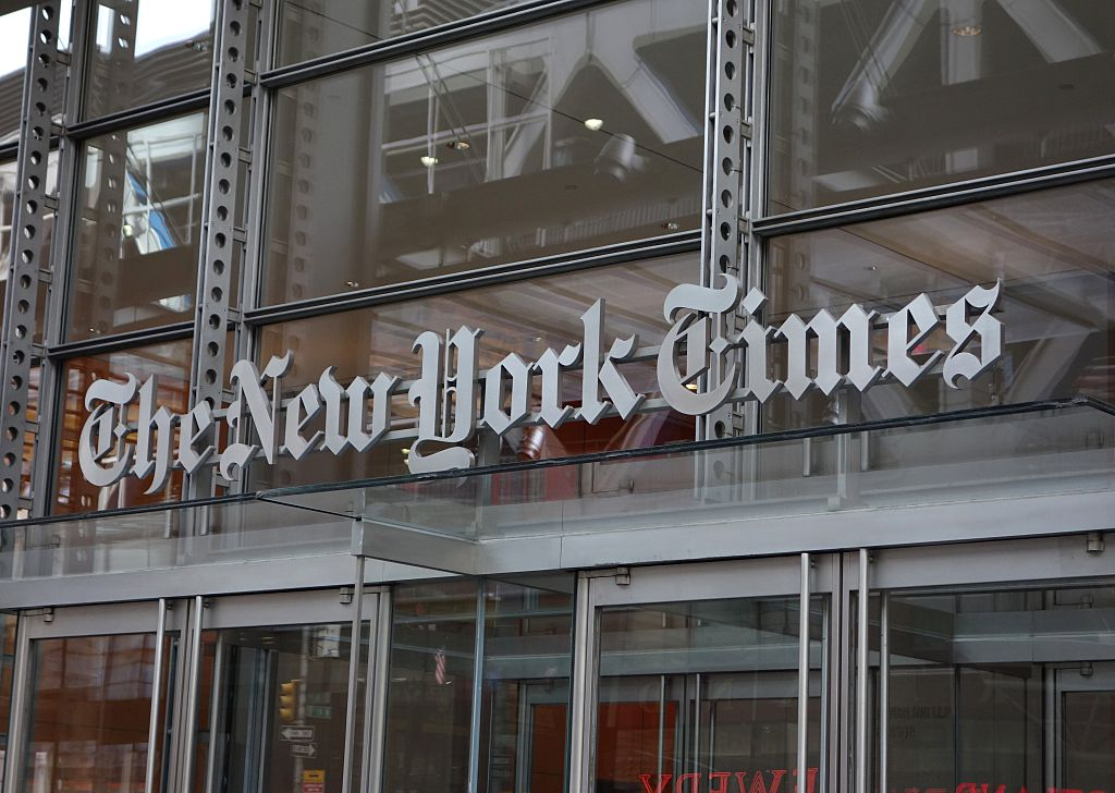 New York Times Employees Stage Walkout Over Editor Jobs