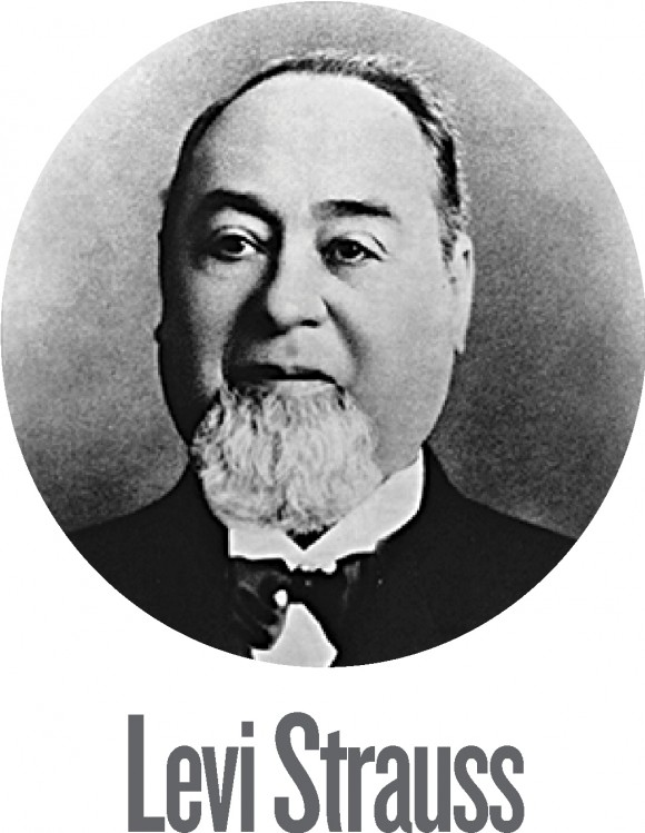 Born in Bavaria, Germany, in 1829, Levi Strauss emigrated to the United States at the age of 18. After working in the family's dry goods business in New York City, he moved to San Francisco in 1853 to open the West Coast branch of the business, adding tents and jeans to the product line of what became the famous Levi Strauss & Co.
