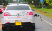 Florida Deputy Leaves Gas Station, Takes Pump Nozzle With Him (Video)