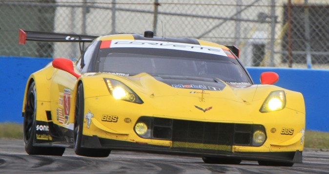 The #3 Corvette was quickest in the GTLM class in the morning session. (Chris Jasurek/Epoch Times)