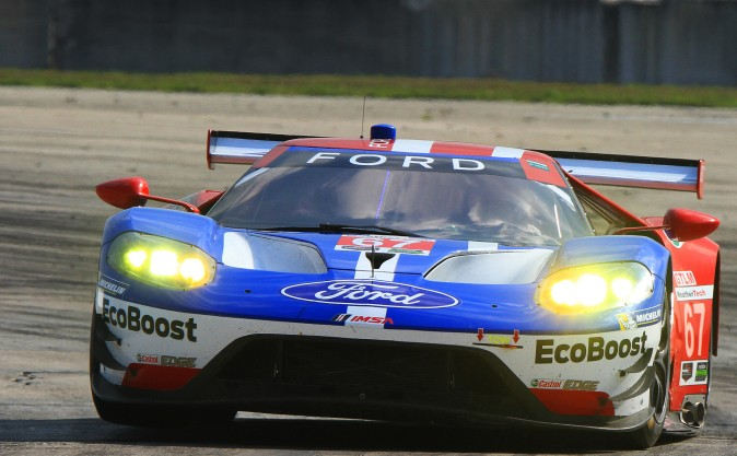 Ganassi-Ford scored five top-five finishes in four sessions at the Sebring Winter Test. (Chris Jasurek/Epoch Times)