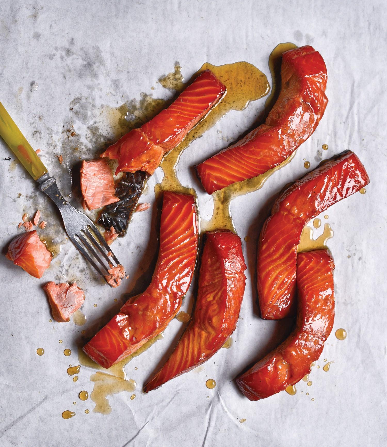 Salmon Candy. (Matthew Benson)