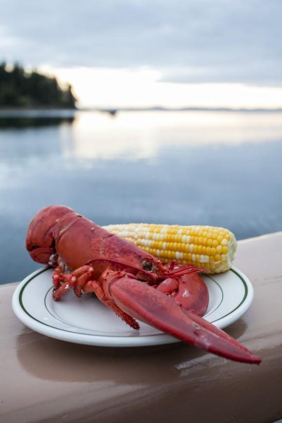 Lobster dinner. (Channaly Philipp/Epoch Times)