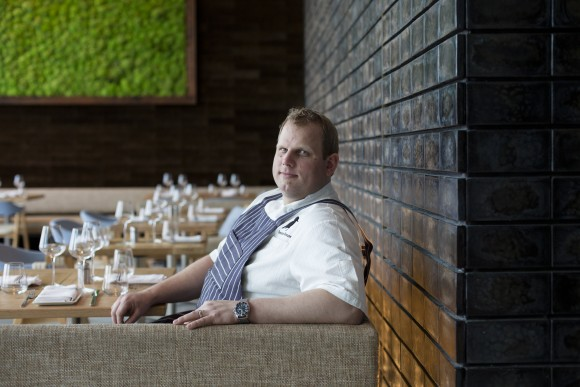 Chef Seadon Shouse grew up in a rural village in Nova Scotia, Canada, where cured and smoked seafood is part of the local cuisine. (Samira Bouaou/Epoch Times)