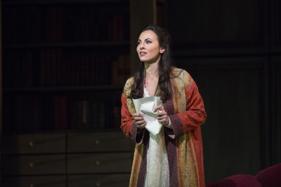 Veronica Simeoni, as Charlotte, makes an impressive debut at the Met. . (Marty Sohl/Metropolitan Opera)