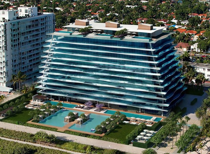 Rendering of Fendi Château Residences, developed by Château Group. (Courtesy Pordes Residential)