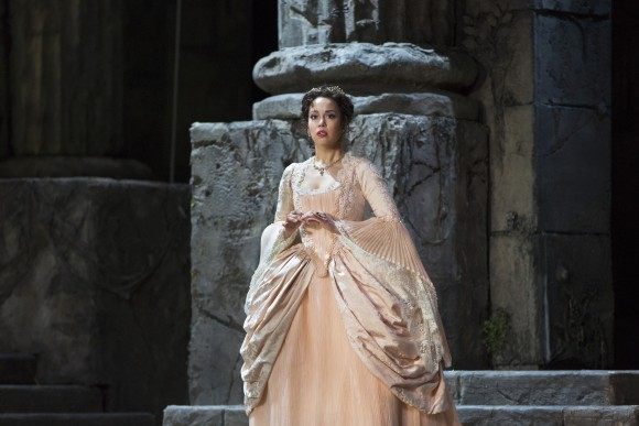 "Nadine Sierra as Ilia in Mozart's ""Idomeneo.""(Marty Sohl/Metropolitan Opera)"