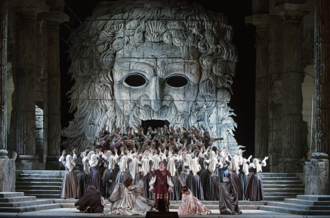 Opera is a connection to a rich, storied history, wrapped up in grandeur, but always fresh and alive, Sierra said. (Marty Sohl/Metropolitan Opera)