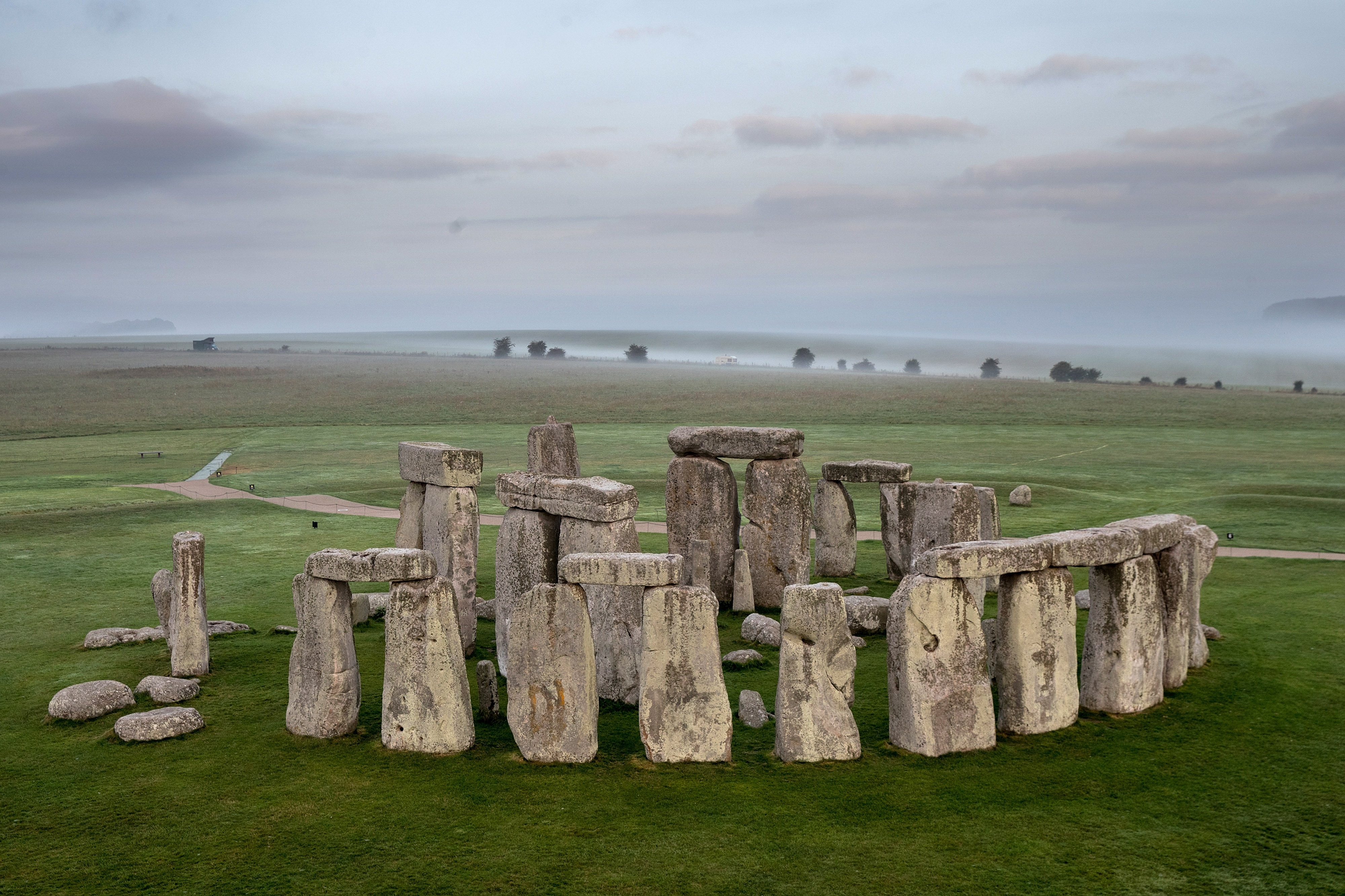 The ancient neolithic monument of Stonehenge in Wiltshire, England. (Matt Cardy/Getty Images)