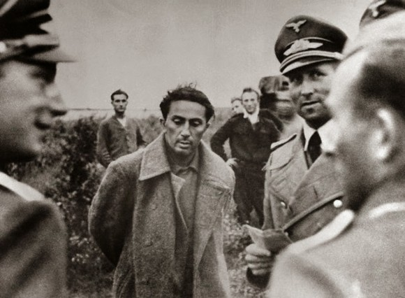 Stalin's son, Yakov Dzhugashvili captured by the Germans in 1941 (public domain)