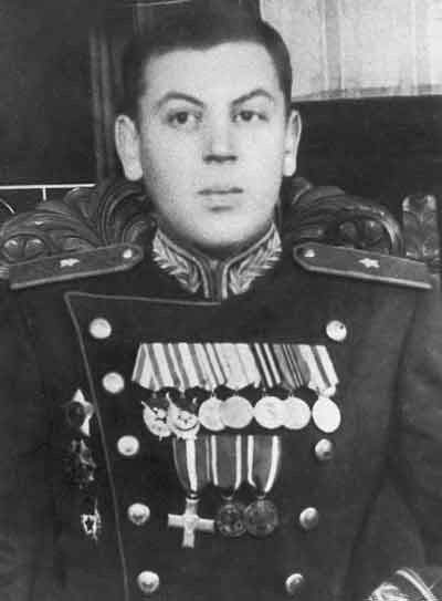 The second son of Joseph Stalin, Vasily Dzhugashvili. (public domain)