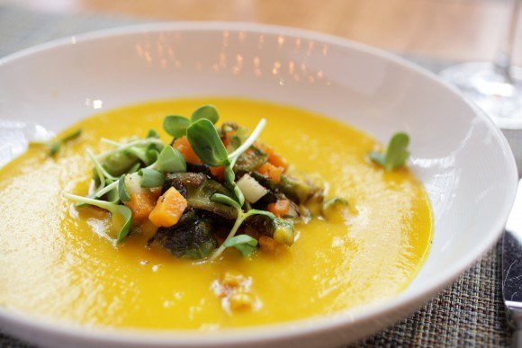 Craft's butternut squash soup. (Courtesy of Craft)