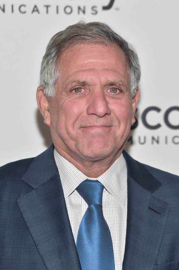 "CEO of CBS Corp. Les Moonves attends the Natural Resources Defense Council's ""NRDC's Night of Comedy"" Benefit with Seth Meyers, John Oliver, George Lopez, Mike Birbiglia and Hasan Minhaj in New York City on Nov. 9, 2016. (Mike Coppola/Getty Images for The Natural Resources Defense Council)"