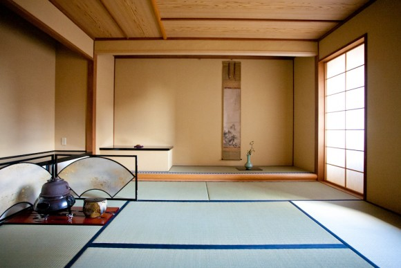 The tea ceremony room at The Kitano. (Courtesy of The Kitano Hotel New York)