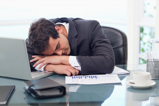 Sleep problems often occur just before an episode of mental illness. (ESB Professional/Shutterstock)