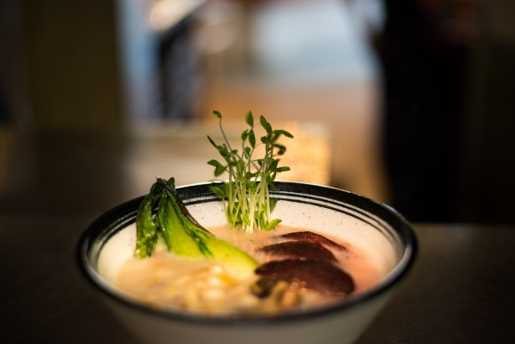 The Shotoribu ramen. (Courtesy of Sushisamba)