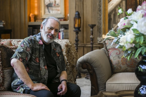 Art collector and chairman of the Art Renewal Center Frederick Ross at his home in the tri-state area on Aug. 11, 2016. (Samira Bouaou/Epoch Times)