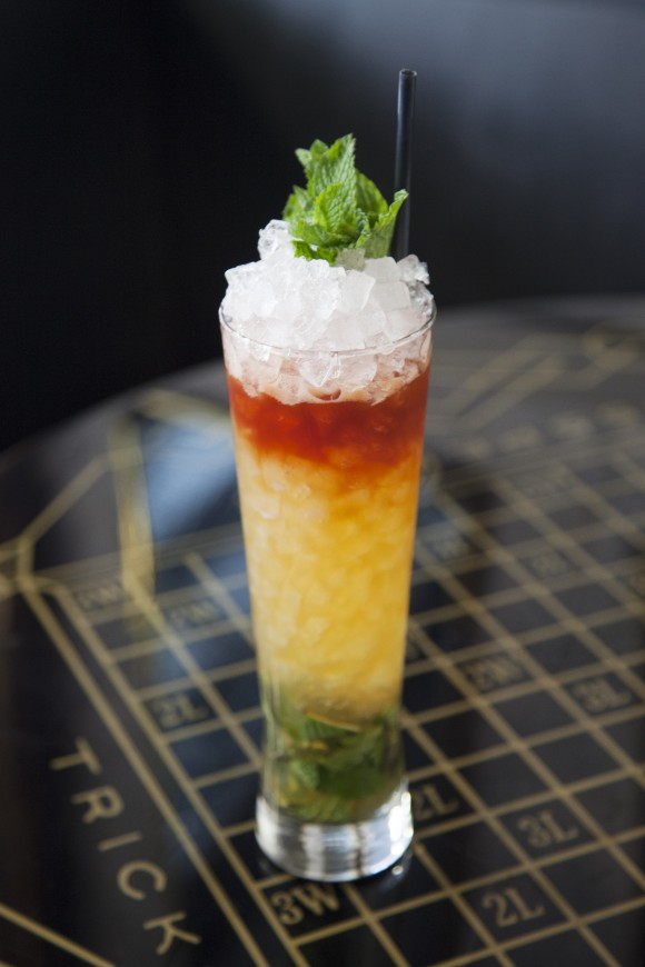 The Queens Park Swizzle. (Courtesy of The Wooly Public)