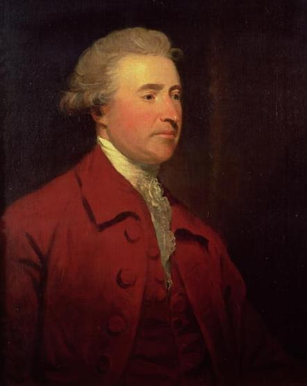 Edmund Burke by James Northcote. (Public Domain)