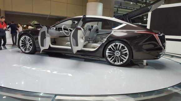 Cadillac Escala concept (Courtesy of David Taylor)