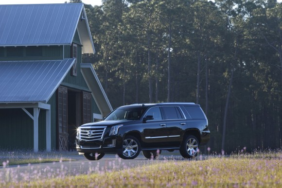 Cadillac Escalade (Courtesy of General Motors)