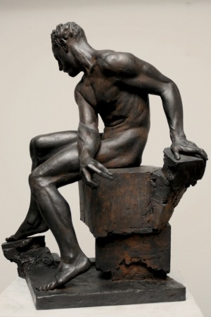Persistence, by Sabin Howard. Cast bronze. (Courtesy of Sabin Howard)