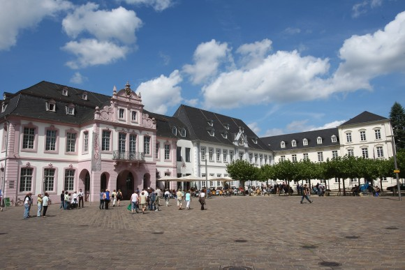 General view of the cathedral square seen on August 9, 2008 in Trier, Germany. Trier ist the oldest town in Germany. (Christof Koepsel/Getty Images)