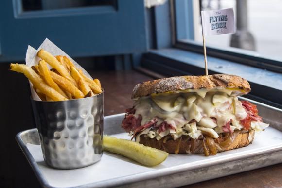 The Loaded Corned Beef Sandwich. (Kaylee Dopkins)