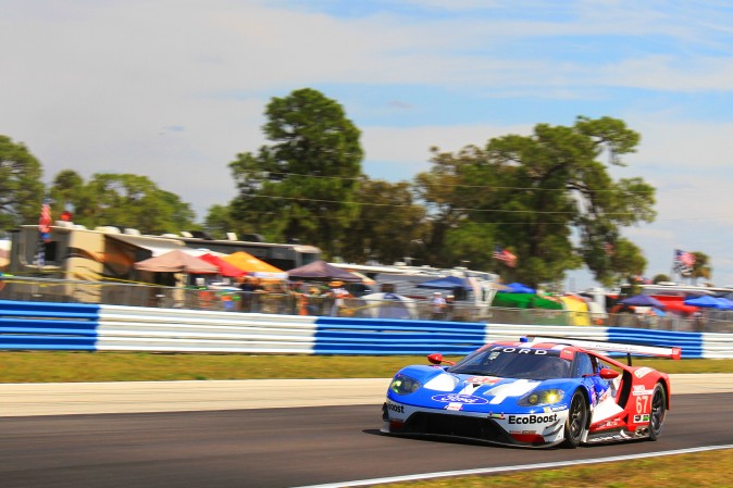 Ryan Briscoe broke the existing GTLM track record by more than two seconds. . (Chris Jasurek/Epoch Times)