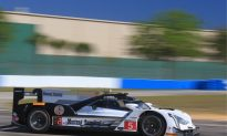 Mustang Sampling Cadillac Leads IMSA Twelve Hours of Sebring After Four Hours