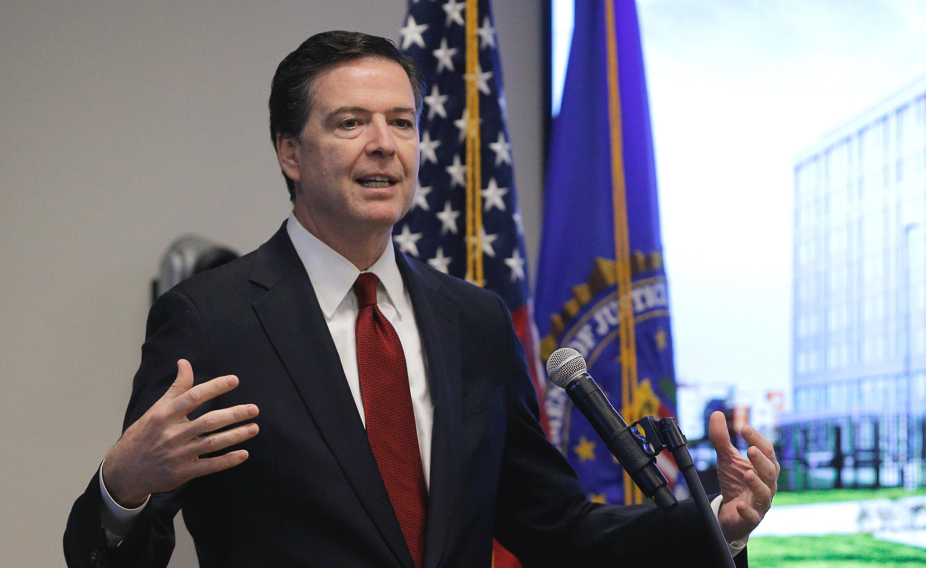 Can Trump Fire FBI Director James Comey?