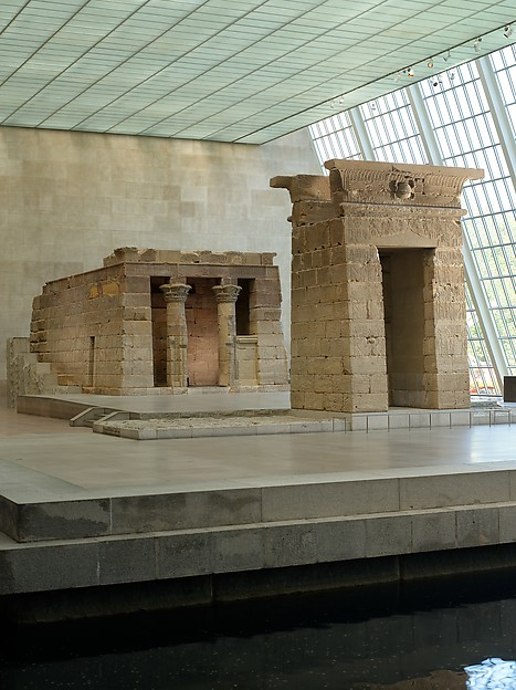 The Temple of Dendur. (Given to the United States by Egypt in 1965, awarded to The Metropolitan Museum of Art in 1967, and installed in The Sackler Wing in 1978)