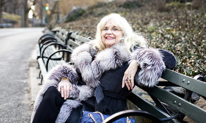 Ildiko Trien, former trapeze artist from Romania, shares her experiences living under communist rule before moving to America in 1970, in New York on Feb. 26, 2017. (Samira Bouaou/Epoch Times)