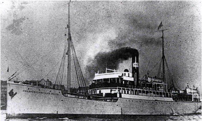 "Oberbürgermeister Haken, a ""Philosopher's Ship"" (Public Domain)"