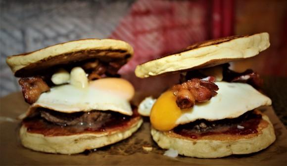 The Jester sandwich. (Courtesy of Kings of Kobe)