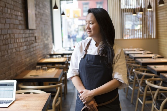 Simone Tong is obsessed with noodles. (Samira Bouaou/Epoch Times)